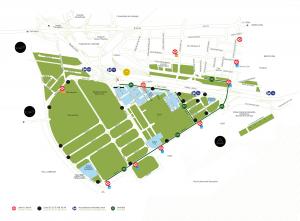 mapa accesos